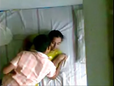Indian Kerala aunty and husbands younger brother hidden camera