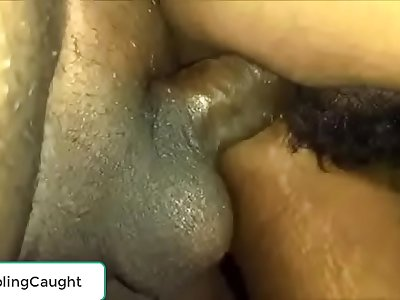 Boy cumming in Desi girlfriend pussy