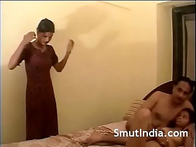 Indian Groupsex Threesome Gangbang