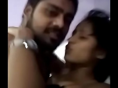 Indian girl with boyfriend part 2